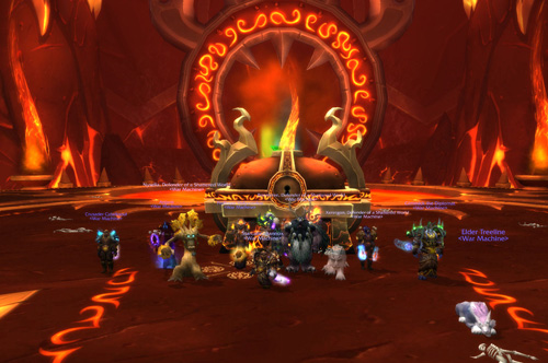 WM Downs Ragnaros!